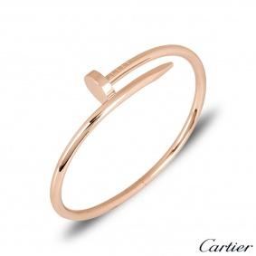Cartier Unworn Rose Gold Juste Un Clou Bracelet Size 19 B6048119